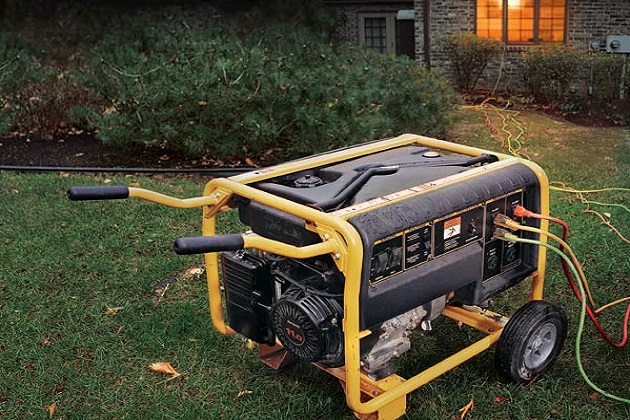Place generators outside, far away and downwind from any buildings and homes.