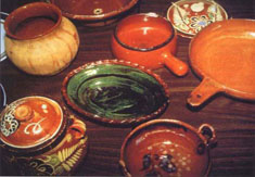 Pottery and ceramics – Pottery, especially from Latin America, may contain lead. DO NOT cook, store or serve food in pottery purchased from another country.
